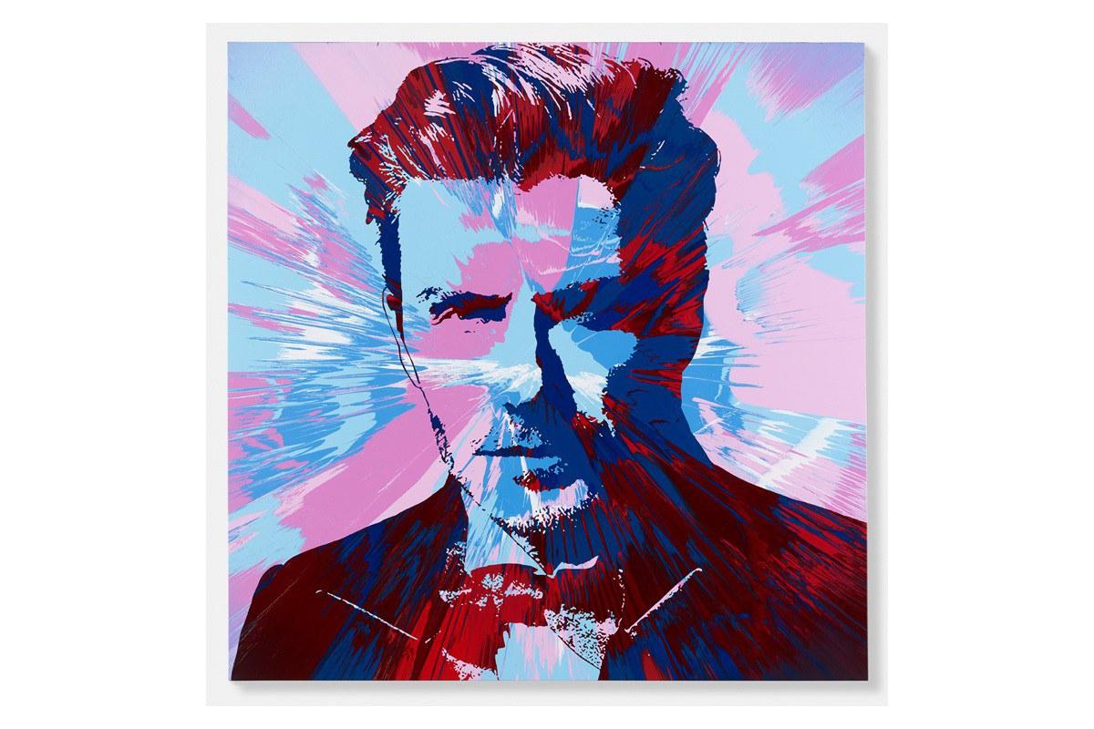 David Beckham Damien Hirst New Large